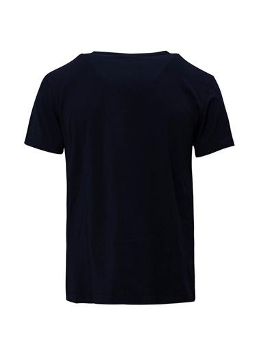 Lufian Pablo Basic T- Shirt  Lacivert